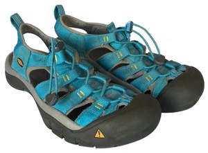 Keen blue/green/teal Athletic