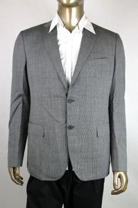 Bottega Veneta Gray Men's Wool Blazer Jacket It 48/Us 38 299711 Groomsman Gift