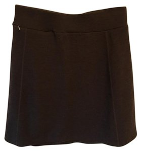 Ibex Wool Holiday Winter Skirt Black