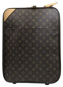 Louis Vuitton Carry On Brown Travel Bag