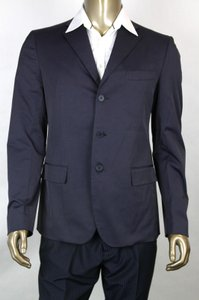 Bottega Veneta Navy Men's 3-button Blazer Jacket It 52/Us 42 282667 4014 Groomsman Gift