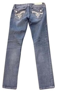 Rock Revival Skinny Jeans-Medium Wash