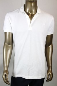 Bottega Veneta White Men's Polo with Logo It 50/Us 40 206338 9000 Shirt