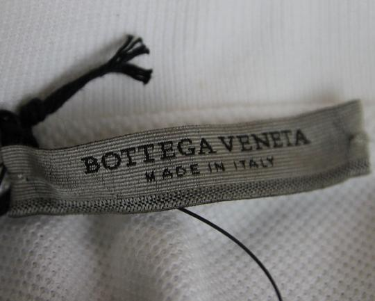 Bottega Veneta White Men's Polo with Logo It 50/Us 40 206338 9000 Shirt Image 5