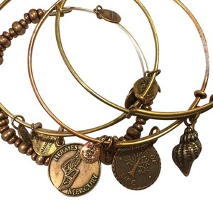 Alex and Ani Charm stack