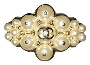 Chanel Pearled Brooch