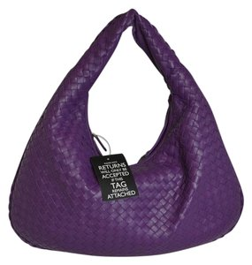 Bottega Veneta Woven Leather New Hobo Bag