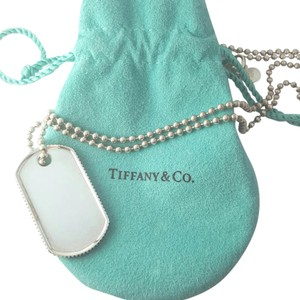 Tiffany & Co. Tiffany & Co. Dog Tag Necklace Sterling Silver 23