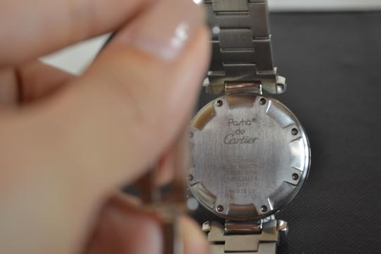 Cartier Authentic Cartier Stainless Steel Pasha Chronograph Watch