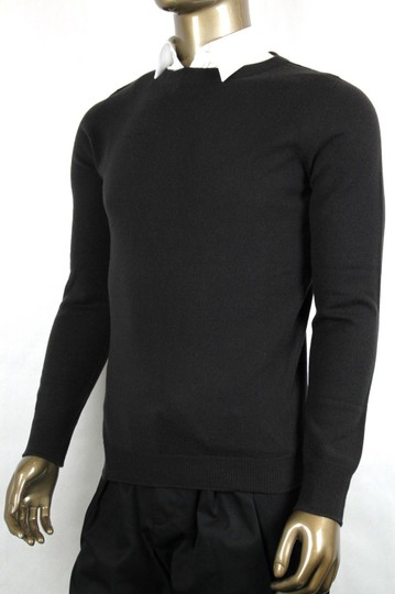 Bottega Veneta Dark Brown Men's Cashmere Sweater It 48/Us 38 299650 2006 Groomsman Gift Image 2