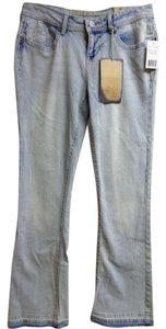 Hippie Laundry Light Wash New Boot Cut Jeans-Light Wash