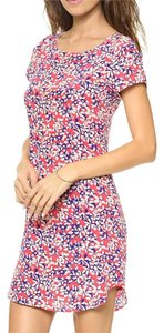 Yumi Kim short dress Pink Floral Printed Swing Bohemian on Tradesy