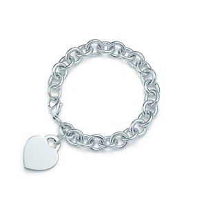 Tiffany & Co. Tiffany & Co. Heart Charm Bracelet 7 1/4