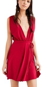 Urban Outfitters Plunge V-neck Dress