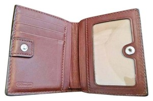 Coach Small Pleated Coach Wallet