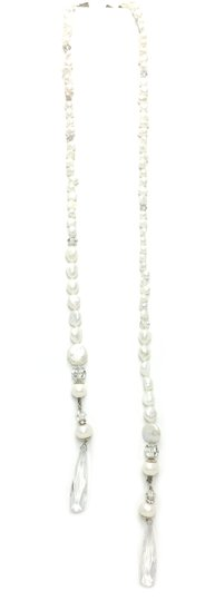 Kinley Multi Strand Pearl Heart Kinley Necklace With Backdrops Image 5