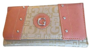 G Style Woman's Wallet Pink Faux Leather Cover