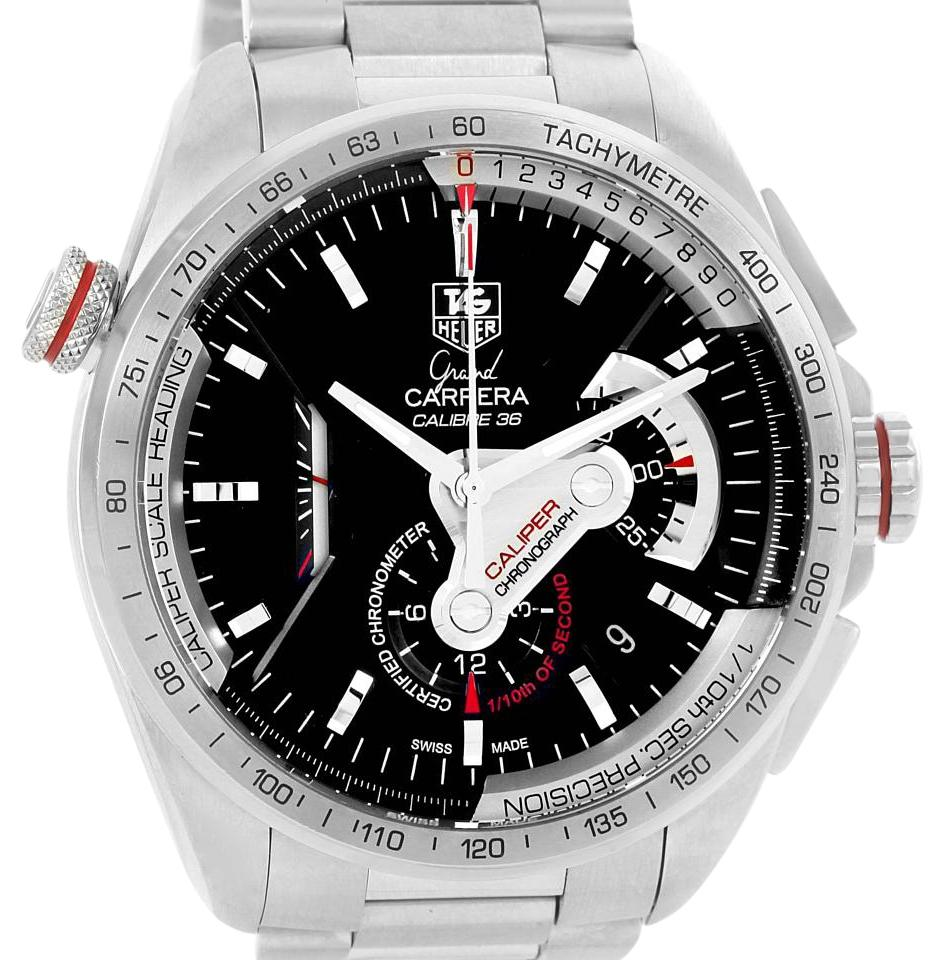 14b5d1b1bfd TAG Heuer Tag Heuer Grand Carrera Calibre 36 RS Automatic Mens Watch CAV5115  Image 0 ...