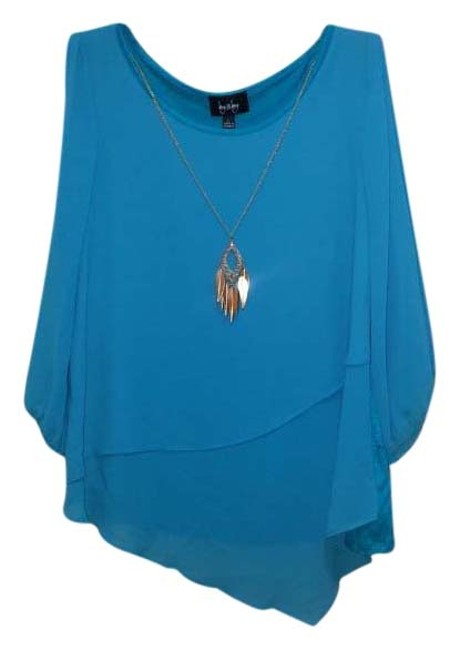 Preload https://img-static.tradesy.com/item/20309162/by-and-by-torquois-blouse-size-12-l-0-1-650-650.jpg