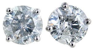ABC Jewelry WOW!!!!! 4.05ct Brilliant cut diamond stud earrings BIG and REAL
