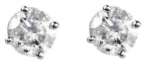 ABC Jewelry Brilliant Cut Diamond Stud Earrings