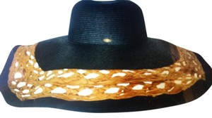Scala Scala Extra wide brim two tone Hat Women's NWOT