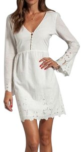Dolce Vita short dress Off-White Lace Embroidered on Tradesy