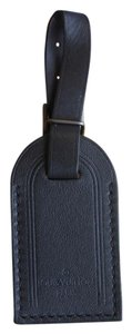 Louis Vuitton Charm Luggage Tag Tote in Black