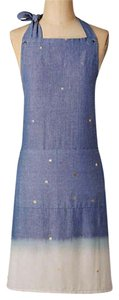 Anthropologie short dress Blue Motif Cotton Chambray on Tradesy