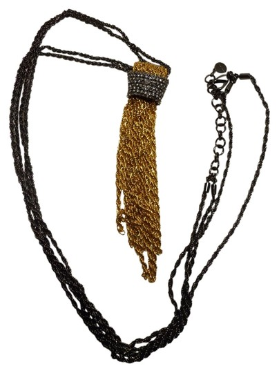 Preload https://img-static.tradesy.com/item/2030955/stella-and-dot-black-gold-tassel-pendant-necklace-0-0-540-540.jpg