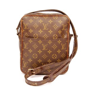 Louis Vuitton Monogram Canvas Rare Vintage Cross Body Shoulder Bag