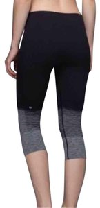 Lululemon like new lululemon seamlessly street crop ombre black size 4