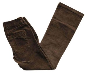 J.Crew Corduroy Boot Cut Pants Dark Brown