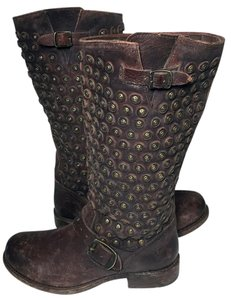 Frye 76391 Jenna Disc Size 7.5 Engineer 7.5 Brown Boots
