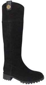 Tory Burch black, gold Boots