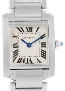 Cartier Cartier Tank Francaise Small Women's Silver Dial Watch W51008Q3