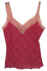 Hanky Panky Top Two-toned pink
