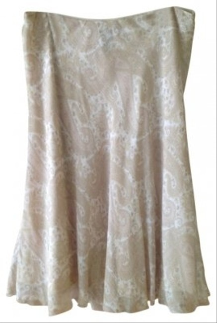 Lauren by Ralph Lauren short dress beige/soft pink on Tradesy