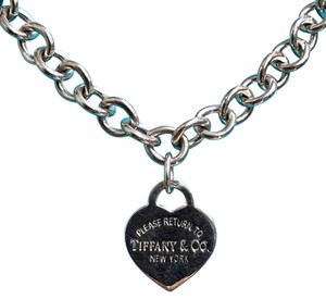 Tiffany & Co. ATTRACTIVE!!!! Tiffany & Co. Return To Tiffany Heart Tag Necklace Sterling Silver 16