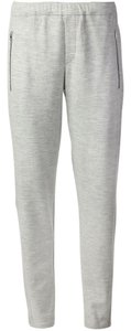 Rag & Bone RAG & BONE EUGENIA DRAWSTRING TRACK PANTS LIGHT GRAY 6 UNISEX