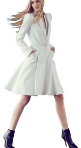 Alexander McQueen Double Layer Lapel Coat Dress
