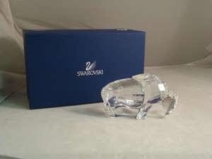 Swarovski Crystal, Buffalo / Bison #624598, Retired
