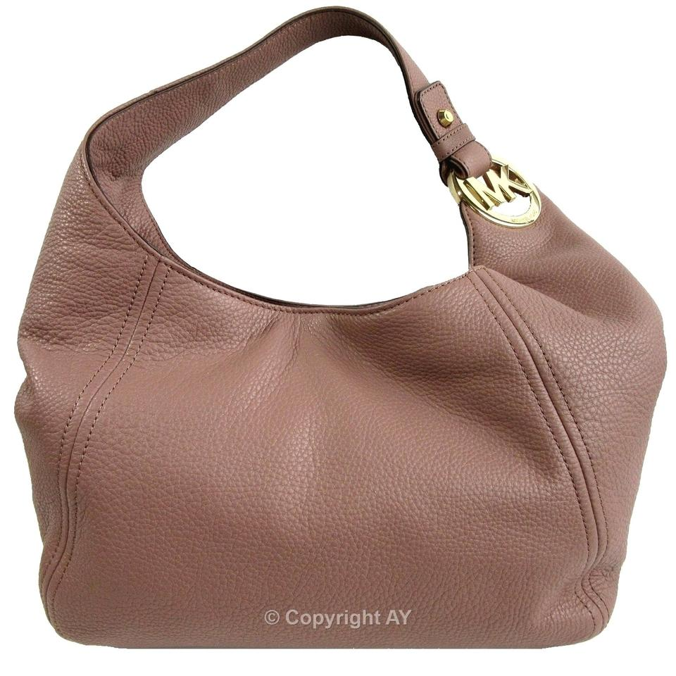 Michael Kors Fulton Large Slouchy Leather Shoulder Bag