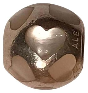 PANDORA Pandora Love Me Mother Of Pearl Charm In Sterling Silver
