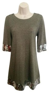 Juicy Couture Mini Tunic Sequin Dress