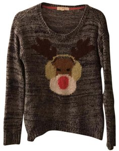Rewind Reindeer Christmas Holiday Sweater