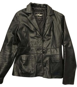 Wilson Leather Buttoned Front Leather Jacket
