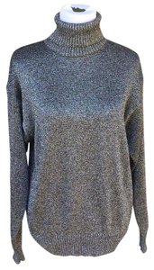 CW Metallic Silver Party Special Event Sweater