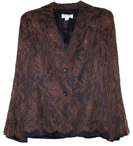CALOMA Vintage BROWN BLACK Blazer