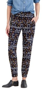 J.Crew Floral Skinny Pants Multi-Colored